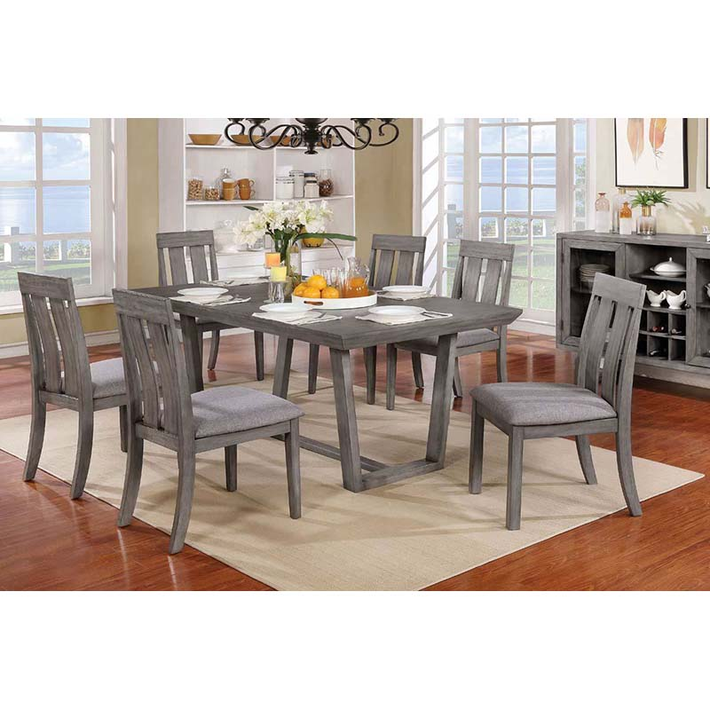 Furniture Of America Furniture Of America Jadyn 7 Piece Dining Set